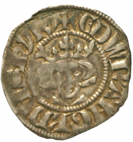 Edward I Long Cross Silver Penny 1272-1307